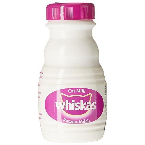 Whiskas Catmilk Lait pour Chat en Bouteille 3 x 200 ML - Pack de 5