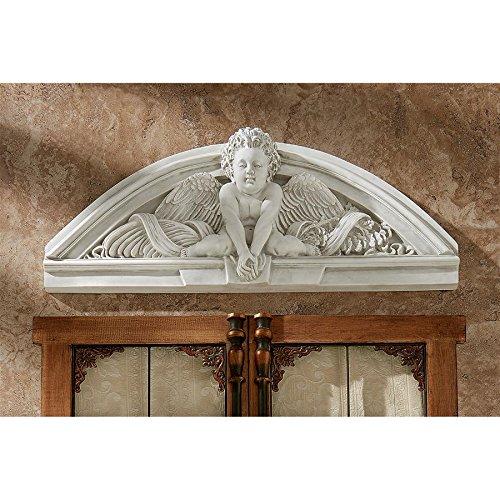 - Madison Collection Cherubs Grande Welcome Pediment
