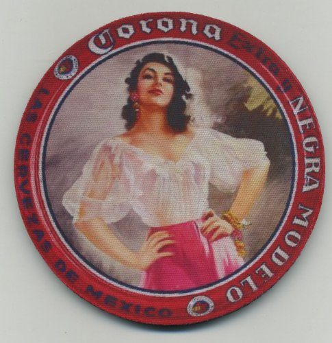 Corona Extra y Negra Modelo - Cerveza Beer Coaster ()