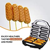 J-JATI Waffel Corn Dog Maker Hot Dog Presser