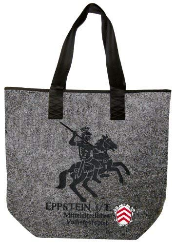 emblem Shopper Bag 26158 Emblem Bag with Shoulder i Bag Rider Felt embroidery Eppstein T atwv1nxxdZ