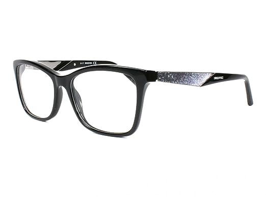 Swarovski Damen Brille » SK5215«, schwarz, 001 - schwarz