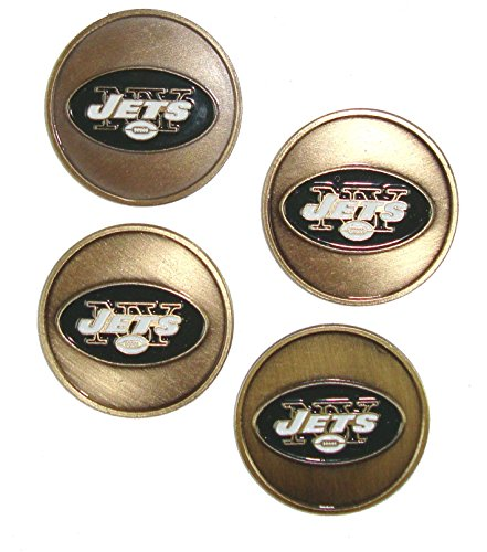 4 Pack - New York Jets Golf Ball Markers
