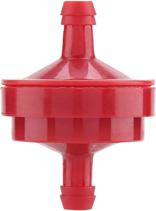 10 Pezzi Filtro Carburante per Briggs /& Stratton 298090 298090S John Deer 1//4Linea di Alimentazione Accessori per Tosaerba Accessori Filtro Carburante per Briggs /& Stratton 298090 298090S