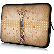 "Brand NEW Fashion cute Giraffe Designe 13"" 13.3"" inch Notebook Neoprene Soft Laptop Sleeve Case Bag Cover Pouch for Apple Macbook Pro, Dell, hp pavillion, toshiba, lenovo series of laptops"