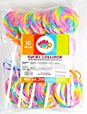 Rainbow Swirl Lollipop - Birthday Party, Favors, Decorations, Supplies - By Lolly Pop Party