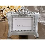 Cassiani Queen for A Day Sparkling Tiara Photo Frame Favors - 36 Pieces
