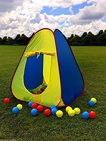 Garden mile® Kids Pop Up Tent Ball Pit Play Tent Childrens Indoor Play Tent Or & Garden mile® Kids Pop Up Tent Ball Pit Play Tent Childrens Indoor ...