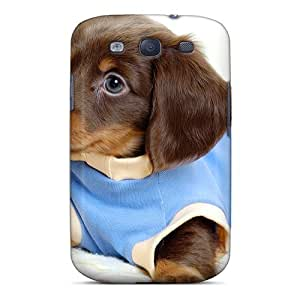 Top Quality Protection Cute Puppy Case Cover For Galaxy S3