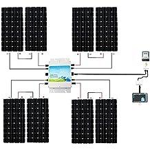 Solar Panels Wiring In Series additionally 261329079202 besides 4 likewise 12v 1000w Inverter Design Process together with Outback Power Off Grid Inverter 2000 Watt 12 Vdc Fx2012mt. on 100 watt 12 volt solar panels