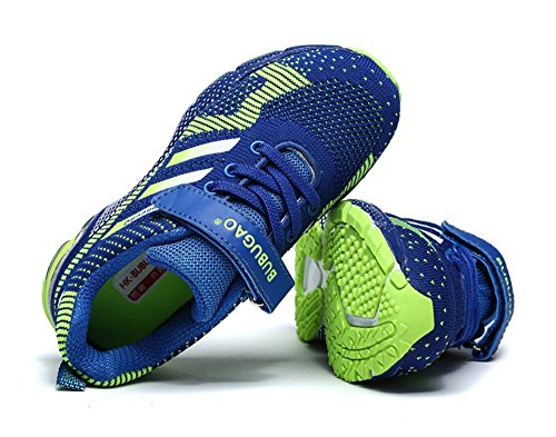 Dayiss Unisex - Kinder Jungen Mädchen Sneaker Halbschuhe Laufschuhe Sportschuhe Turnschuhe Freizeitschuhe Blau