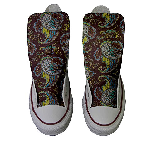Brown Personalizados Customized producto Zapatos All Converse Artesano Paisley Star qv0Hw1vA