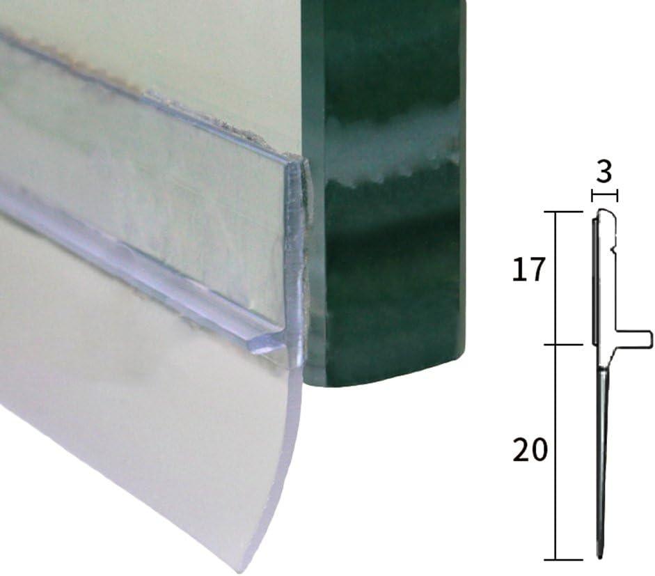 3.6cm Sellado Tapa de la Parte Inferior de la Puerta Transparente 100 Lvguang Tira de Sello de la Puerta