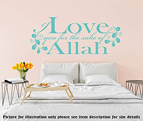 I Love You For The Sake Of Allah Citation Islamique