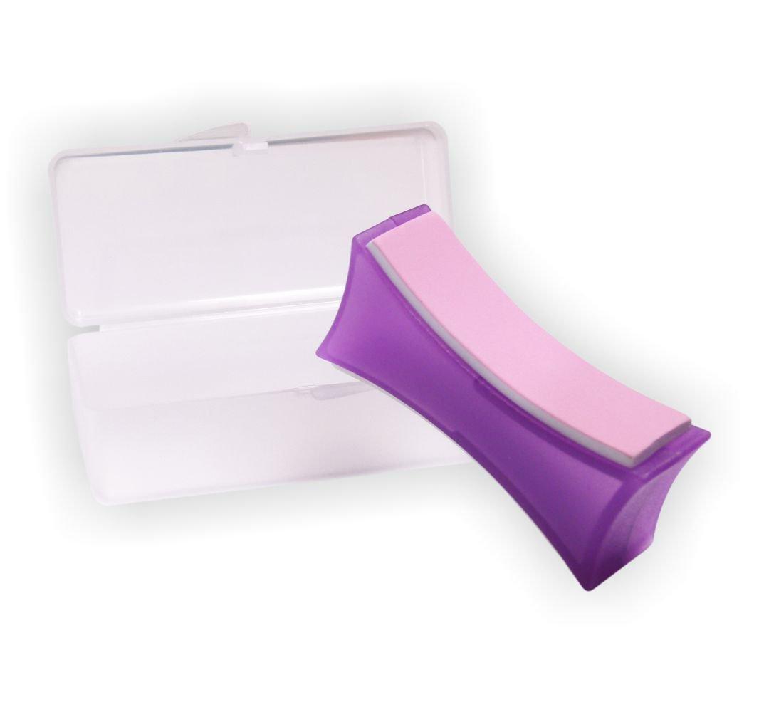 Supershiner Profi Nagel Polierblock 2-flächig für glänzend gepflegte Nägel inkl. Aufbewahrungs-Box NAILFUN ®