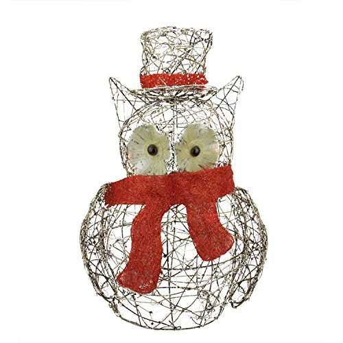 Outdoor Lighted Owl - 2