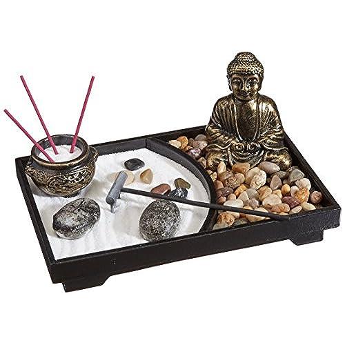 Asian Japanese Feng Shui Sand Zen Garden