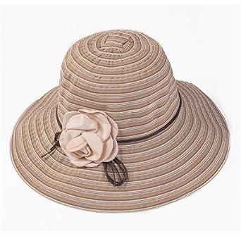 710a47aeb Amazon.com: Aabigale beautiful elegant girls flower belt striped ...