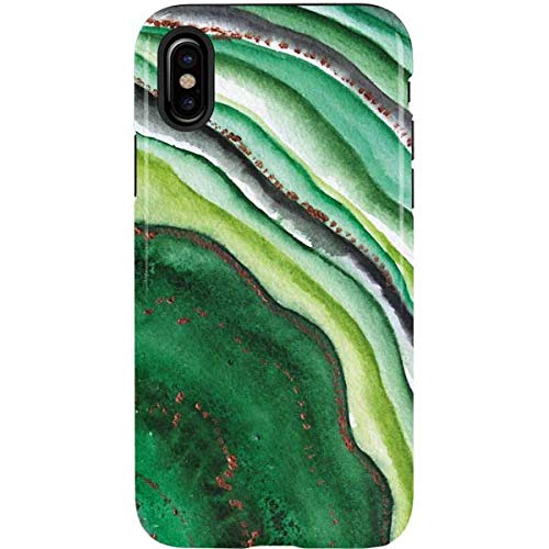 Skinit Kiwi Watercolor Geode Case for iPhone Xs Max - Officially Licensed Skinit Originally Designed Phone Case, Scratch Resistant Cover for iPhone Xs Max