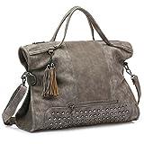 SiMYEER Women Top Handle Satchel Handbags Large Tote Purse Shoulder Bag