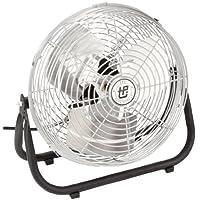 Tpi Workstation Fan - 12 Blade Diameter - -1/12 Hp - Free-Standing - White