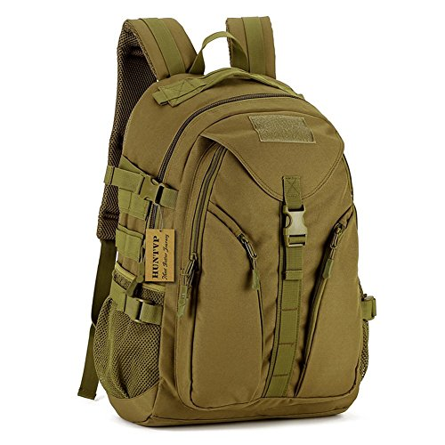 SUNVP 35L Tactical Assult Backpack Student School Bag Water-Resistant Designer Pack for Hunting Camping Trekking Cycling Travel