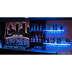 Floating LED Shelves – Wine Rack Review