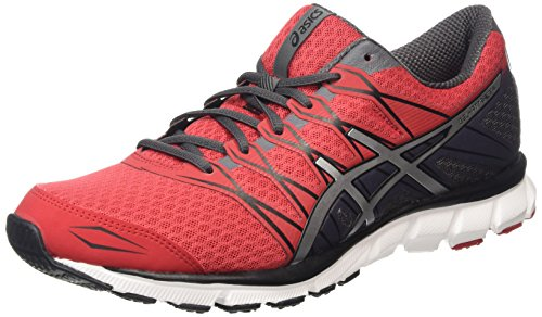 Asics Gel-Pulse 9, Chaussures de Running Homme, Rouge (Classic Red/Silver/Black 2393), 42 EU