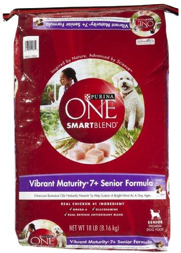 Purina Dry Dog Food Vibrant Maturity 7+ Senior Formula 16.5
