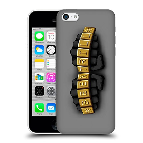 Official Been Trill Knuckles Gold Bling Blings Hard Back Case for Apple iPhone 5c