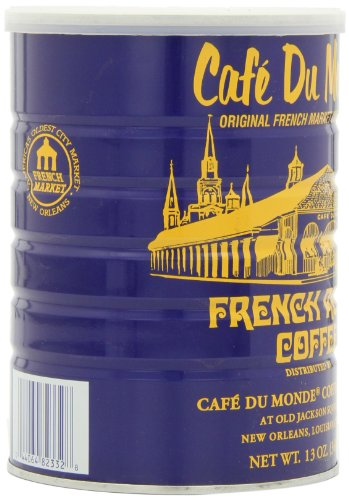 Cafe Du Monde Coffee, French Roast, 13-Ounce (Pack of 3)
