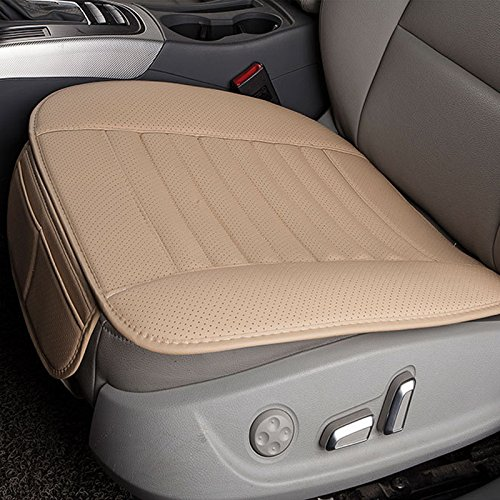 Breathable PU Leather Bamboo Charcoal Car Interior Seat Cover Cushion Pad for Auto Supplies Office Chair