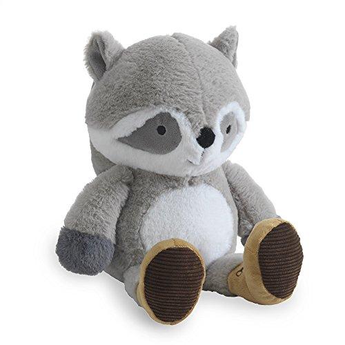 (Lambs & Ivy Little Campers Plush Raccoon Stuffed Animal - Pumpkin)