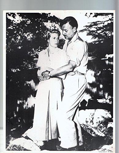MOVIE POSTER: Clark Gable and Grace Kelly-Fan Card-11x14-B&W