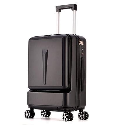 49afa408e298 Amazon.com: FDSjd Trolley Suitcase, Universal Wheel Luggage, Male ...