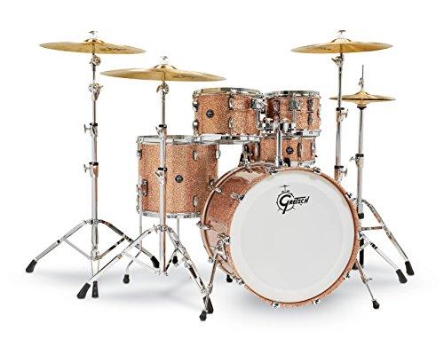 Gretsch Renown2 5 Piece Drum Set (22/10/12/16/5.5x14SN) Copper ()