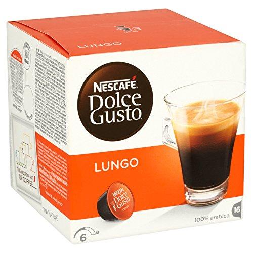 Nescafé Dolce Gusto Kaffeekapseln, Lungo, 3er Pack (48 Kapseln) 335g
