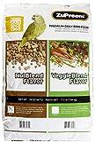 ZUPREEM 230364 Nutblend Flavor Caged Medium and Large Bird Food, 17.5-Pound