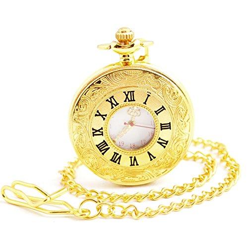 Gold Quartz Pocket Watch - 3