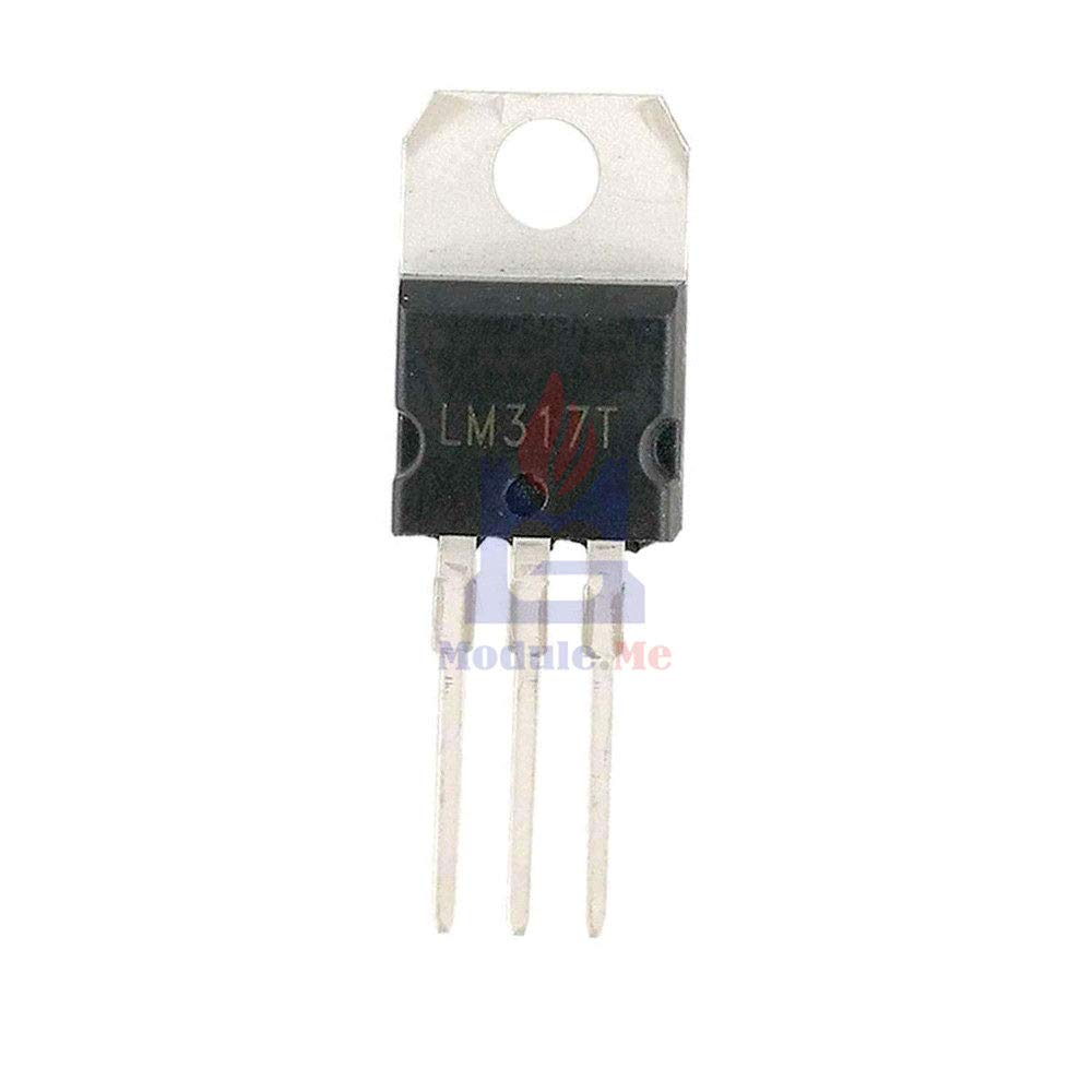10PCS NEW LM317T LM317 TO-220 Voltage Regulator IC