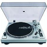 Omnitronic 10603061 DD-2550 USB-Plattenspieler silber