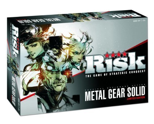 Metal Gear Solid Risk Limited Edition Individually Numbered Board (Limited Edition Individually Numbered)