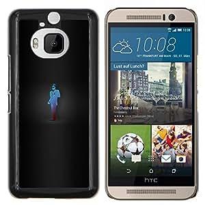 EJOOY---Cubierta de la caja de protección para la piel dura ** HTC One M9Plus M9+ M9 Plus ** --Juego Camaleón Spy Tf