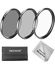 Neewer Kit di Filtri per Obiettivo 40,5mm:Filtro UV/CPL/ND4 Custodia per Filtri Stoffa di Pulizia per Camere Sony A6000,NEX Serie con Obiettivo 16-50mm/Samsung NX300 con Obiettivo 20-50mm
