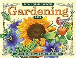 Farmers Almanac 2021 Gardening Calendar Background