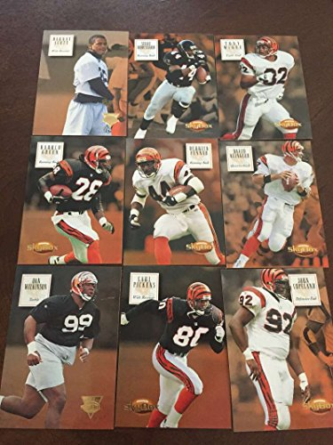 - 1994 Skybox Premium FB Cincinnati Bengals Team Set 9 Cards