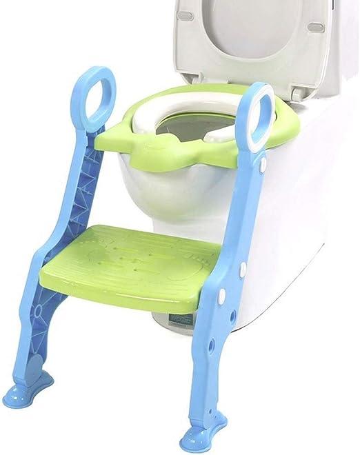 Asiento Escalera Niño del tocador de escalera Silla de bebé Mujer Kid Boy WC asiento de