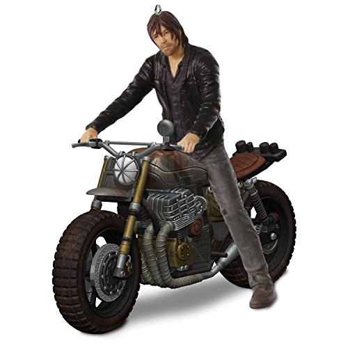 Hallmark Keepsake Christmas Ornament 2018 Year Dated, AMC The Walking Dead Daryl Rides]()