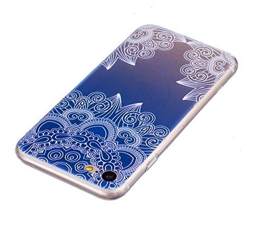 """Vanki® iPhone 7 Funda, Protectiva Carcasa de Silicona de gel TPU Transparente, Ultra delgada, Amortigua los golpes Case Cover Para iPhone 7 4.7"""" 11"""