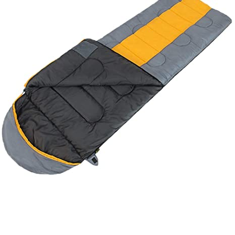 Amazon.com : LINAE Sleeping Bags - Wind Tour Outdoor Camping Thermal Sleeping Bag Winter Envelope Hooded Sleeping Bags Travel Thick Sleep Bag Saco De Dormir ...